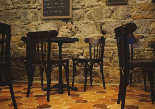 Bar à vins Vieille Canaille Lyon - Décoration restaurant - BALTYS