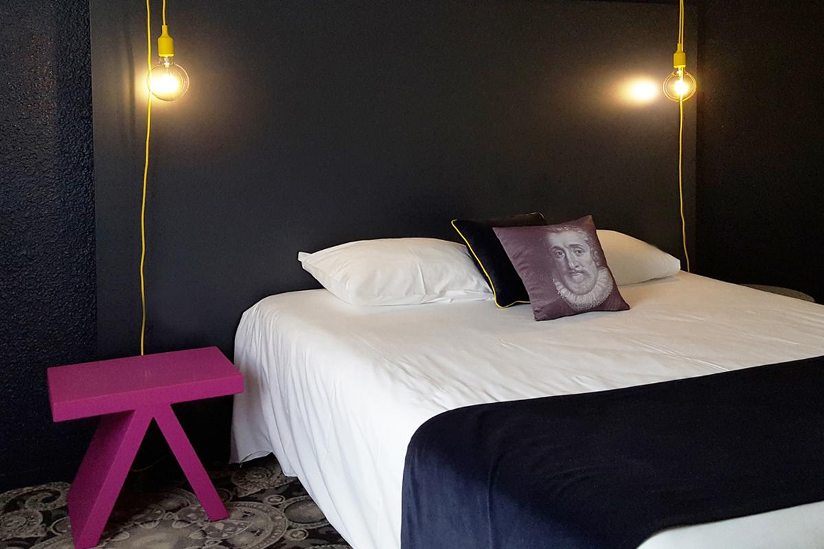 Agencement, décoration et fourniture mobilier de l'Hôtel Kyriad | BALTYS