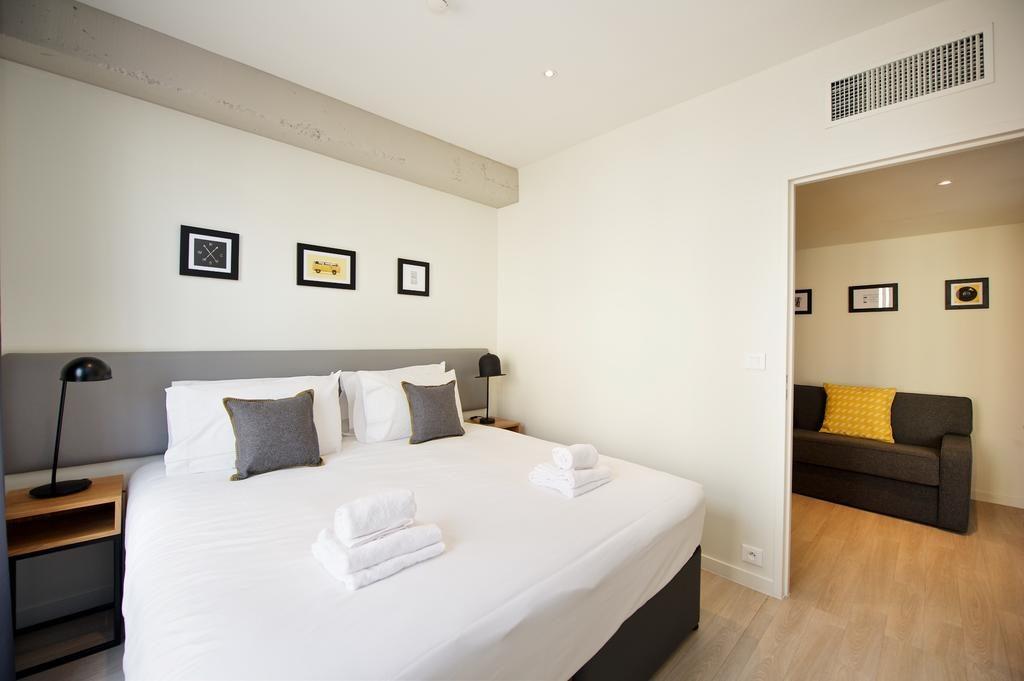 aménagement et mobilier pour appart'hôtel.
