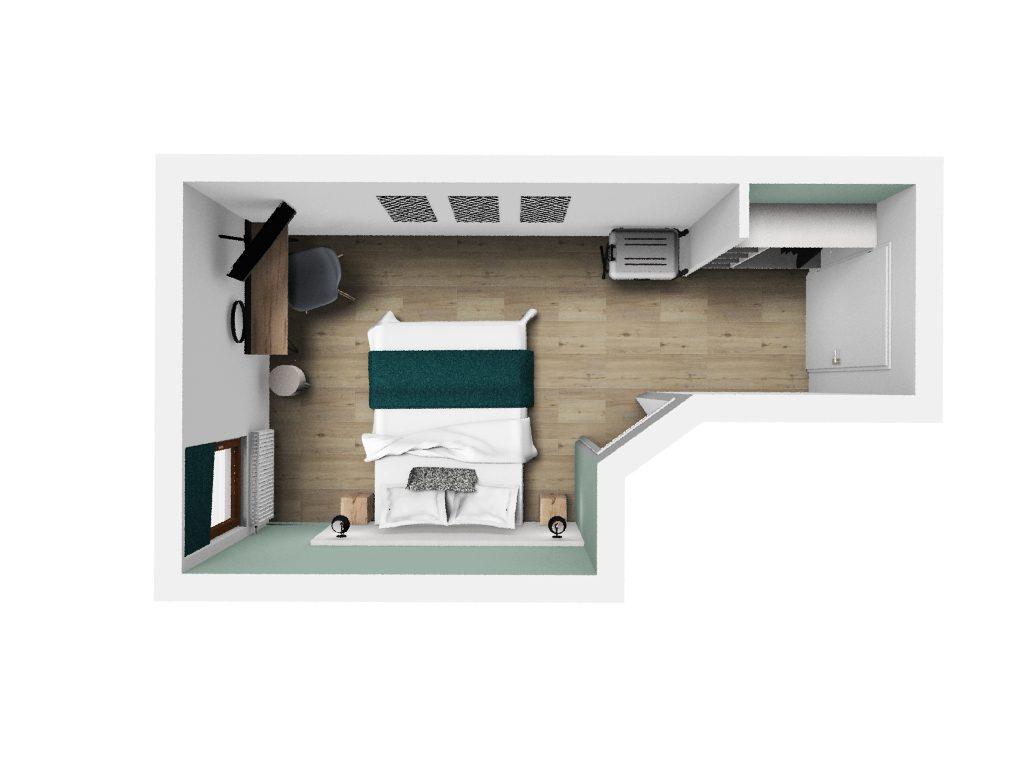 Agencement et décoration intérieur d'hôtel