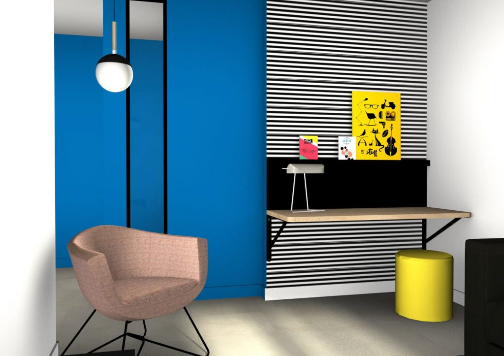 Agencement et décoration intérieur pour résidence de tourisme | BALTYS